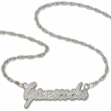 South Carolina Script Necklace