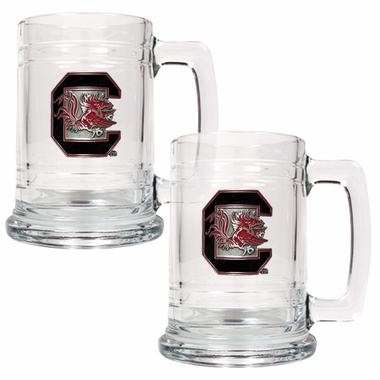 South Carolina Set of 2 15 oz. Tankards