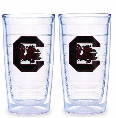 South Carolina Set of TWO 16 oz. Tervis Tumblers
