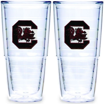 South Carolina Set of TWO 24 oz. Tervis Tumblers