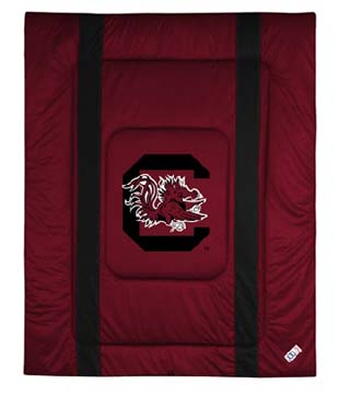 South Carolina SIDELINES Jersey Material Comforter