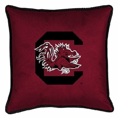 South Carolina SIDELINES Jersey Material Toss Pillow