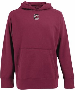 South Carolina Mens Signature Hooded Sweatshirt (Team Color: Maroon)