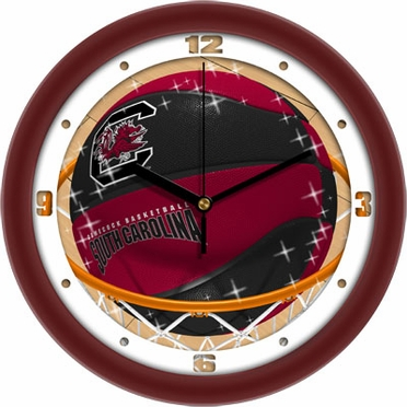 South Carolina Slam Dunk Wall Clock