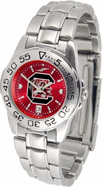 South Carolina Sport Anonized Women's Steel Band Watch