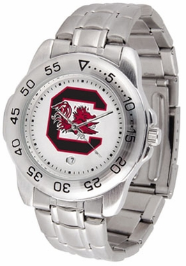 South Carolina Sport Men's Steel Band Watch