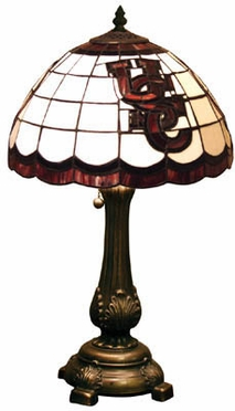 South Carolina Stained Glass Table Lamp