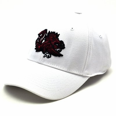 South Carolina White Premium FlexFit Baseball Hat