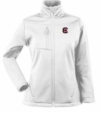 South Carolina Womens Traverse Jacket (Color: White)
