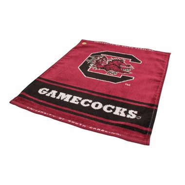 South Carolina Woven Golf Towel
