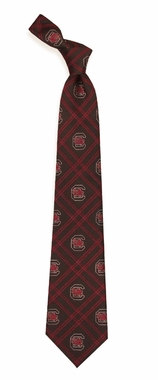 South Carolina Woven Poly 2 Necktie