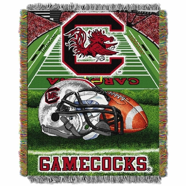 South Carolina Woven Tapestry Blanket