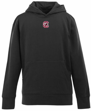 South Carolina YOUTH Boys Signature Hooded Sweatshirt (Color: Black)