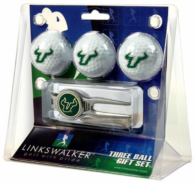 South Florida 3 Ball Gift Pack With Kool Tool