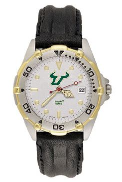 South Florida All Star Mens (Leather Band) Watch