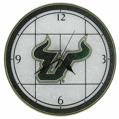South Florida Art Glass Clock