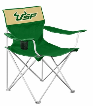 South Florida Canvas Adult Folding Logo Chair