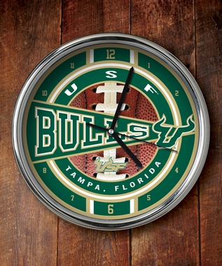 South Florida Chrome Clock