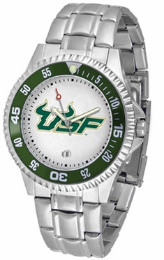 South Florida Competitor Men's Steel Band Watch