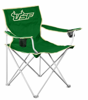 South Florida Deluxe Adult Folding Logo Chair