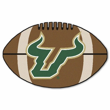 South Florida Football Shaped Rug