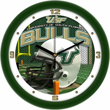 South Florida Helmet Wall Clock