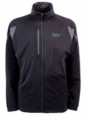 South Florida Mens Highland Water Resistant Jacket (Team Color: Black)