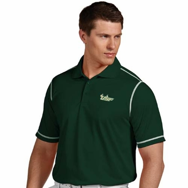 South Florida Mens Icon Polo (Team Color: Green)