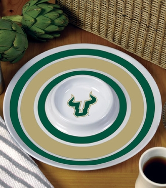 South Florida Plastic Chip and Dip Plate