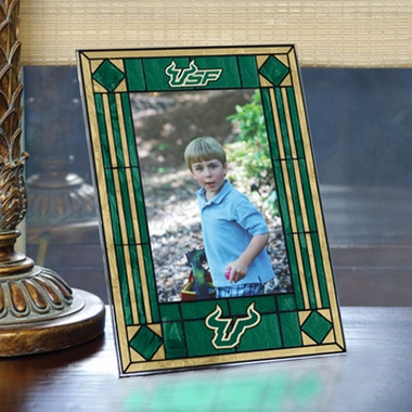 South Florida Portrait Art Glass Picture Frame