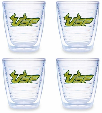 South Florida Set of FOUR 12 oz. Tervis Tumblers