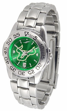 South Florida Sport Anonized Women's Steel Band Watch
