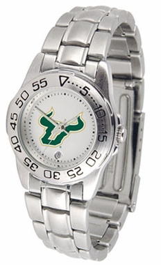 South Florida Sport Women's Steel Band Watch