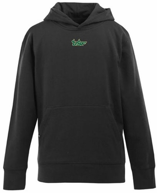 South Florida YOUTH Boys Signature Hooded Sweatshirt (Team Color: Black)