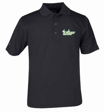 South Florida YOUTH Unisex Pique Polo Shirt (Team Color: Black)