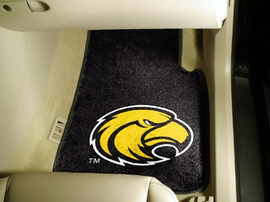 Southern Miss 2 Piece Car Mats