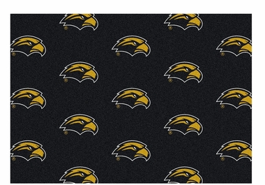 "Southern Miss 5'4"" x 7'8"" Premium Pattern Rug"
