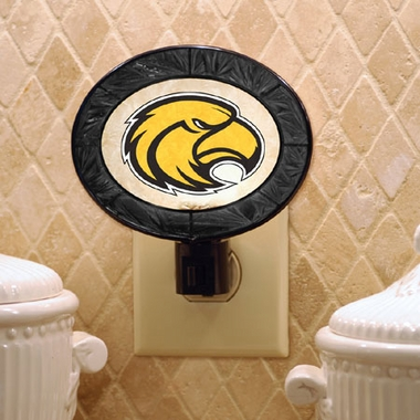 Southern Miss Art Glass Night Light