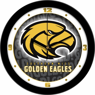 Southern Miss Dimension Wall Clock