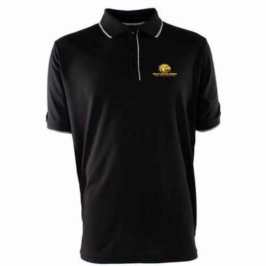 Southern Miss Mens Elite Polo Shirt (Team Color: Black)