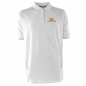 Southern Miss Mens Elite Polo Shirt (Color: White) - Small