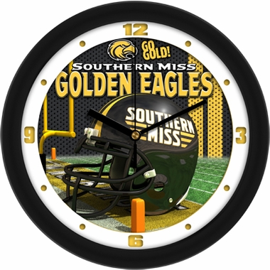 Southern Miss Helmet Wall Clock