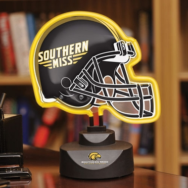 Southern Miss Neon Display Helmet