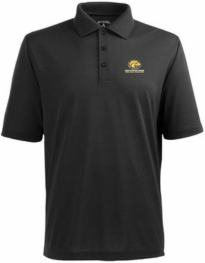Southern Miss Mens Pique Xtra Lite Polo Shirt (Team Color: Black)