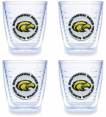 Southern Miss Set of FOUR 12 oz. Tervis Tumblers