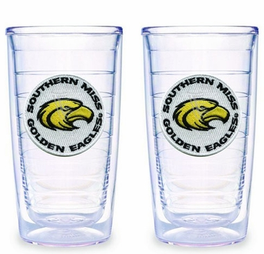 Southern Miss Set of TWO 16 oz. Tervis Tumblers