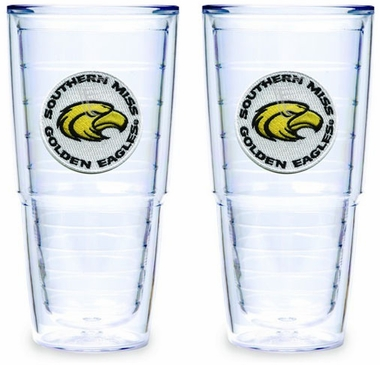 Southern Miss Set of TWO 24 oz. Tervis Tumblers
