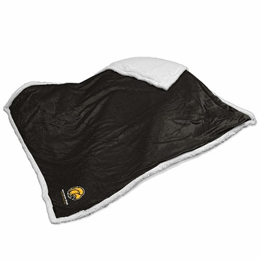 Southern Miss Sherpa Blanket