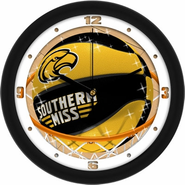 Southern Miss Slam Dunk Wall Clock