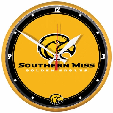 Southern Miss Wall Clock